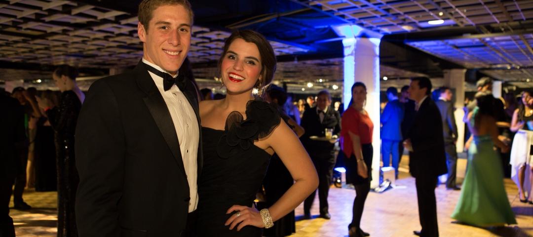 Couple at Ball