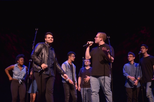 The Motherfunkers are a co-ed a cappella group at GW with a focus on Contemporary Pop and Top 40 hits.