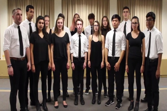 One co-ed a cappella group you won't want to miss!